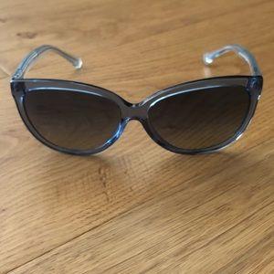 Coach sunglasses crystal/glitter blue HC 8153